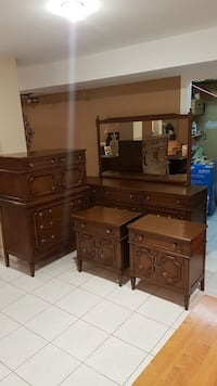 Dresser, chest of drawers and night tables