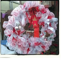Large holiday wreath one of a kind handmade  Oceano, 93445
