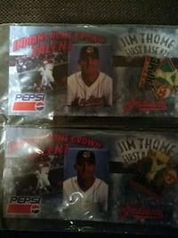 four assorted baseball trading cards Broadview Heights, 44147