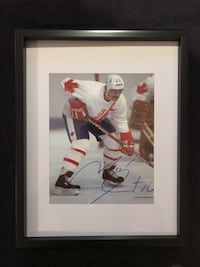 Michel Goulet Signed and framed photo