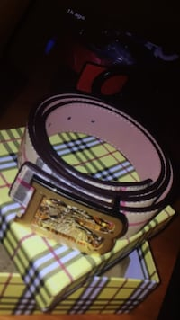 black and yellow leather belt Ottawa, K2C 3G1