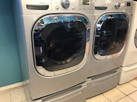 Front Load Washer and Electric Dryer Sets with Pedestals  Elkridge, 21075