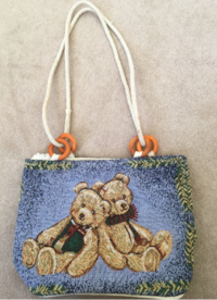 Teddy bear Bag Maple Ridge
