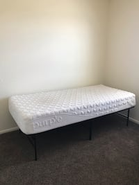 White and gray bed mattress Kirtland Afb, 87116