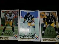3 PITTSBURGH STEELERS AUTOGRAPHS Vancouver, 98682