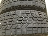 4 winter tires and wheels, size 195/70r14. slightly used (1 season)5 bolt pattern.$175 for the set