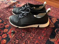 Pair of black-and-white nike sneakers Fairfax, 22033