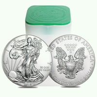 Lot 10 1 oz american eagle .999 Montreal, H3W 1Y1