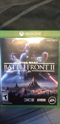Xbox One Star Wars Battlefront game case Ashtabula, 44004
