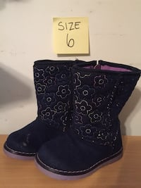 Toddler girl boots size 6  Woodbridge, 22193