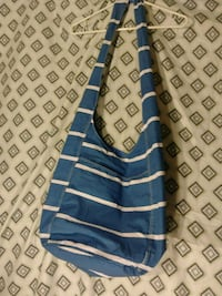 blue and white stripe textile Wolfforth, 79382
