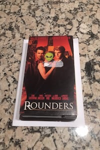 VHS movie tape Rounders Los Angeles, 90049