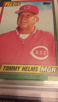 Tommy Helms trading card Greenwood, 72936