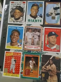 Willie mays & Mickie mantle cards Knoxville, 37919