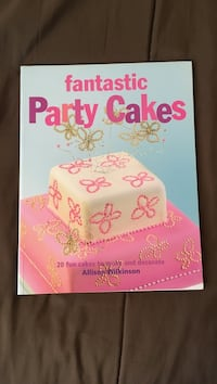 Fantastic Party Cakes - Cake decorating book