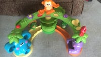 baby's green orange purple blue and yellow fisher price plastic activity toy Denham Springs, 70726