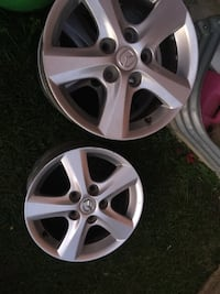 "4 original rims for mizda 15"" no scratches no damage  Brampton, L6R 3M6"