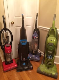 Lot of 4 vacuum cleaners Manassas, 20112