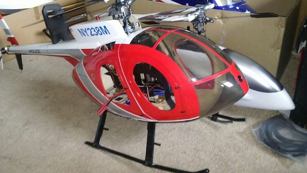 Rc helicopter fuselages