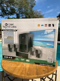 D&K Sound Labs Professional 5.1 Home Theater System - BRAND NEW  Tampa, 33604