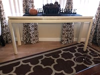 Sofa console table pearl white gold modern Port Charlotte, 33948