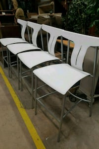 Set of four new modern chairs High Point, 27263