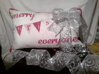 Accent Cushion `Merry Christmas Everyone`` Brampton