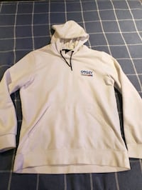 Oakley White Pullover Hoodie