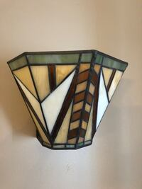 PARTYLITE STAINED GLASS SCONCES