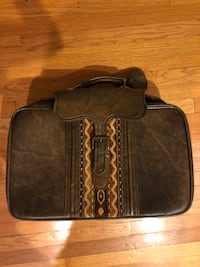 Vintage Faux Leather Suitcase Chicago, 60613