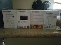 65watt dimmable LED lamps. 2$ each if you buy 1200