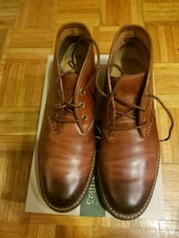 pair of brown leather dress shoes Willingboro