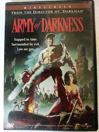 Army of Darkness dvd Baltimore