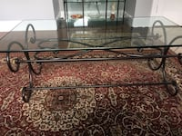 Glass and Iron Sweet Heart Coffee Table Falls Church, 22042