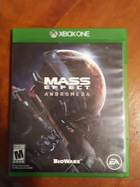 Mass Effect Andromeda Xbox One game case Canandaigua, 14424