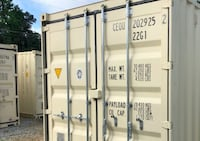 Local-One Trip, New Conex Container, 20' Steel Containers, Container Clover