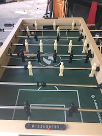 black and white foosball table Springfield, 22150