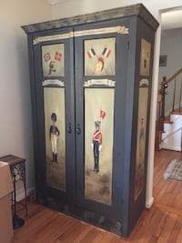 Military Armoire Antique Annandale, 22003