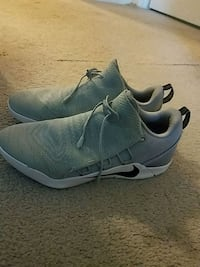pair of gray Nike running shoes Manassas