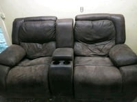Double recliner one chair dips in  Memphis