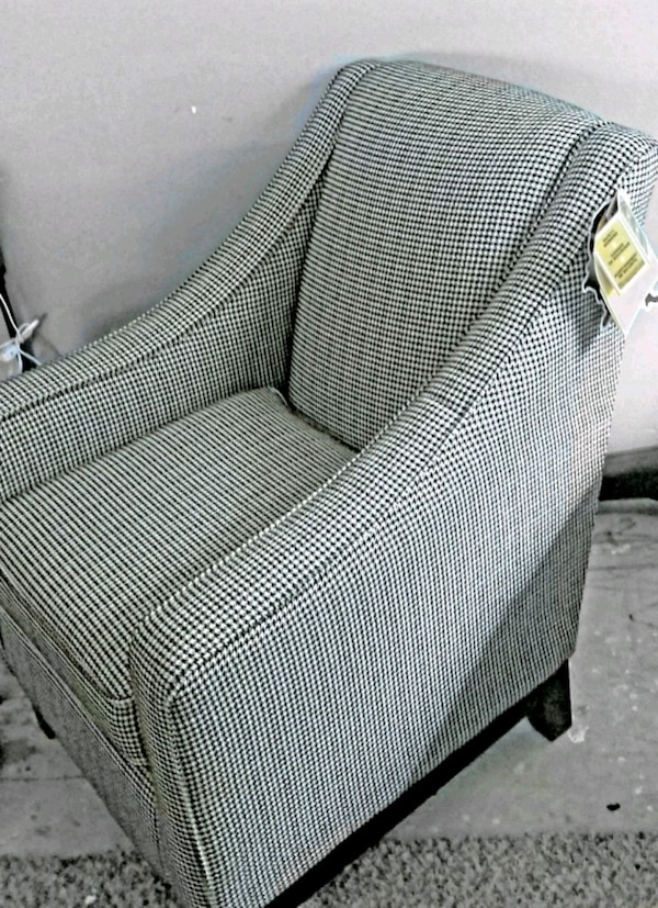 Custom Fabric Accent Chairs.Brand New Custom Upholstered Accent Chair