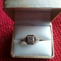 GOLD, Ring with  BLACK, GOLD AND BROWN gemstones  West Allis, 53219
