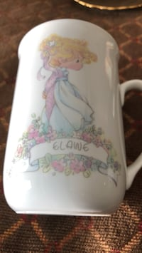 white and pink floral ceramic pitcher Jacksonville, 32223