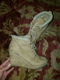 New BKE wedge boots size 8 Oklahoma City, 73108