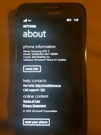 Samsung ativ s Windows phone Burnaby, V5J 1B9