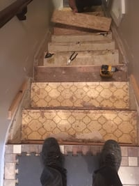 Will restore or resurface your old stairs North Battleford