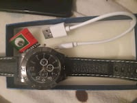 Watch with built in rechargeable lighter  Ajax, L1Z 1H4