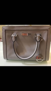 BNWT Michael Kors Collins Venus Leather Satchel - Dove Grey Richmond, V7A 1H2
