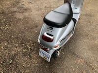 white and black motor scooter Victoria, V9A 1R4