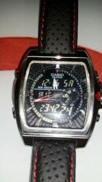casio edifice 120l saat dijital ve analog
